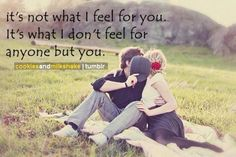 it's not what i feel for u...