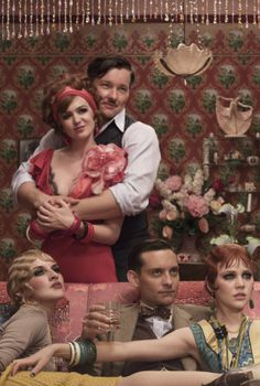 The Great Gatsby- I love the apartment scene it's beautiful all around.