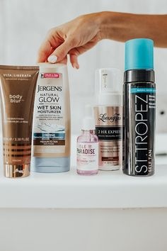 the ultimate self tanning guide - Lauren Kay Sims Beauty Bar, Beauty Tips, Beauty Products, Makeup Products, Contouring Products, Highlighting Contouring, Contouring Makeup, Facial Cleanser, Fotografia