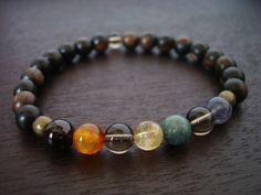 Men's Seven Chakra Mala Bracelet