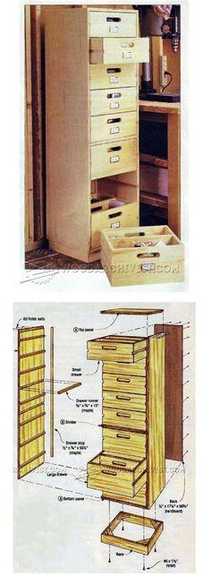 Stack Up Storage Plans - Workshop Solutions Plans, Tips and Tricks   WoodArchivist.com