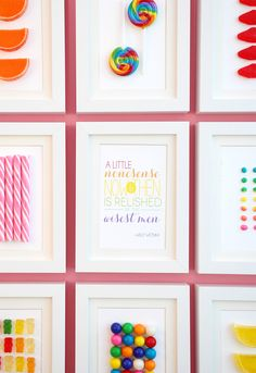 Frame Your Favorite Candy!