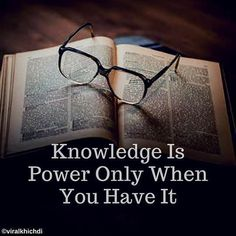 How will you use it if you don't have It?  #viral #knowledge #knowledgeispower #thoughts #instagood #instadaily