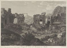 Theater van Taormina, Vincenzo Alloja, ca. 1781 - ca. 1820