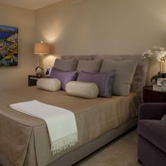Upholstered Headboard Design Ideas, Pictures, Remodel, and Decor - page 9