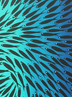 Hey, I found this really awesome Etsy listing at https://www.etsy.com/ru/listing/285624643/dreaming-fish-aqua-blue-art-painting
