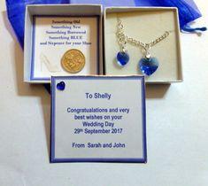 Gay Lesbian Wedding Civil Partnership Marriage Something Blue Luck Sixpence Gift