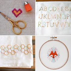 How About Orange. Free Embroidery patterns