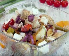 Непередаваемо вкусный салат — гриль из овощей