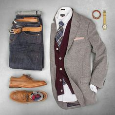 Outfit grid - Stylish layers