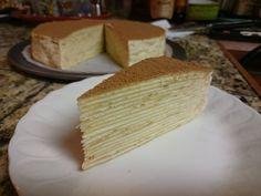 Made my own birthday cake: Tiramisu Mille-Crepe