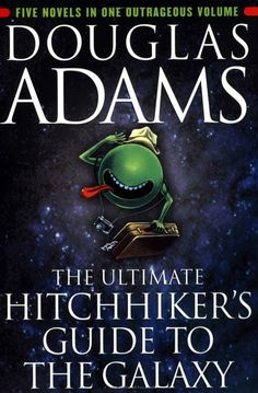 The 42 Best Lines from Douglas Adams' The Hitchhiker's Guide to the Galaxy Series. May Today is Towel Day, an annual commemoration of the life and work of Douglas Adams. I Love Books, Great Books, Books To Read, Amazing Books, Big Books, Children's Books, Fantastic Quotes, It's Amazing, The Hitchhiker