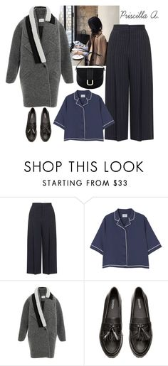 """""""Travel Korea, Day #7"""" by priscillaanakwah ❤ liked on Polyvore featuring Topshop, Carven, H&M and A.P.C."""