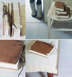 Sustainable Student: Homemade gift idea: homemade journal