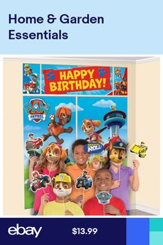 47 Best Paw Patrol Party Supplies images | Birthday party ...