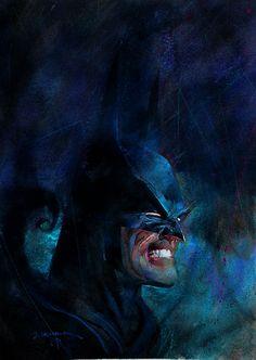 Batman by Bill Sienkiewicz