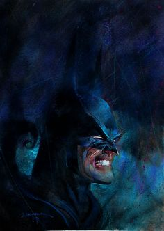 Batman by Bill Sienkiewicz