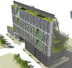 Center for Urban Agriculture proposed by Mithun Architects