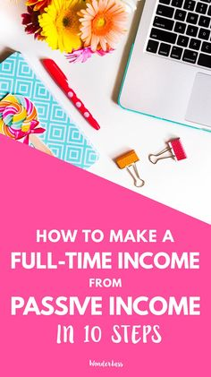 Sharing all about how I started making a full-time income from passive income in just 10 simple steps! You can literally make limitless amounts of money from passive income because there's no limit to your time! Click through to read about how you can incorporate passive income to your online business! #onlinebusiness #passiveincome #entrepreneurtips #onlinebusinessgrowth #femalentreprenur