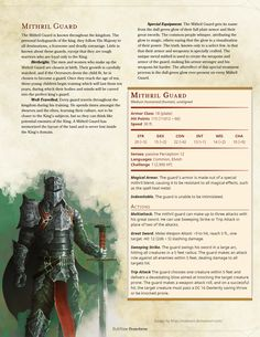 The King's Army - A D&D 5e Monster Pack - Imgur