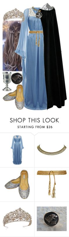 """""""Game of Thrones """"Queen in the North"""""""" by werewolf-gurl ❤ liked on Polyvore featuring Temperley London, Sonia Rykiel and Match"""