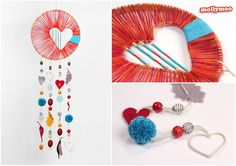 MollyMoo – crafts for kids and their parents Heart of Hope Dreamcatcher