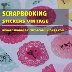 #scrapbooking #stickers #vintage #collage #españa #tiendaonlinederegalos #customized