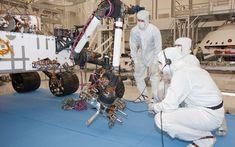 Curiosity Mars Rover Flexes Its Robotic Arm