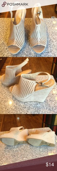Wedge Booties Brand new and very cute for summer! Chinese Laundry Shoes Wedges