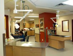 Treatment area - full view | Hospital Design, good layout