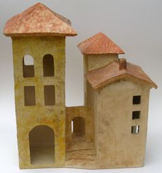Italian houses by Marikie Hoekstra
