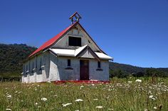 An old abandoned church at Omaio in the eastern Bay of Plenty by brian nz via Flickr
