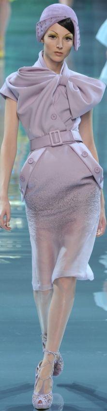 #HAUTE FLASH #Dior HC FW 2008