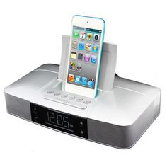 $39.98 Capello Stereo FM Clock Alarm Radio With Lightning Dock For IPhone  5/5S And