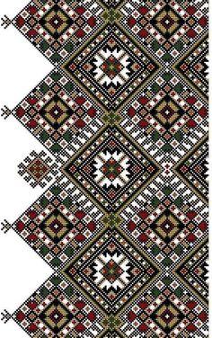 تشكيلة رائعة من الطرز المغربي الأصيل - توعية Border Embroidery, Embroidery Motifs, Hand Embroidery Designs, Cross Stitch Embroidery, Cross Stitch Borders, Cross Stitch Flowers, Cross Stitch Designs, Cross Stitch Patterns, Palestinian Embroidery
