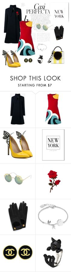 """casi perfecta"" by cristhyne-torres on Polyvore featuring moda, Whiteley, Chloé, RED Valentino, Full Tilt, Mulberry, Disney, Chanel e Les Petits Joueurs"