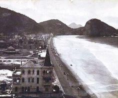 Avenida Atlântica, em 1920