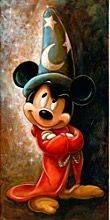 Disney-Zauberer Mickey Mouse Giclée von Darren Wilson - Young Lady Fashion - Best of Wallpapers for Andriod and ios Disney Pixar, Disney Mickey Mouse, Mickey Mouse E Amigos, Arte Do Mickey Mouse, Walt Disney, Disney E Dreamworks, Mickey Mouse Drawings, Mickey Mouse And Friends, Cute Disney