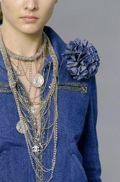 Детали декора одежды Paris Spring 2006 - Chanel