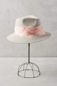 Feather Trim Rancher - anthropologie.com