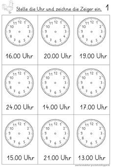 set default times vorgegebene Uhrzeiten einstellen Here it will now go on gradually, because the clock is simply a puzzle for some people …. you a nice adventure … - Kindergarten Prep, Preschool Math, Math Clock, Welcome To School, Math Quotes, Math Vocabulary, Der Computer, Teaching Time, Math Art
