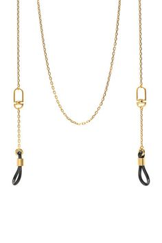 BOW SUNGLASS NECKLACE - GOLD