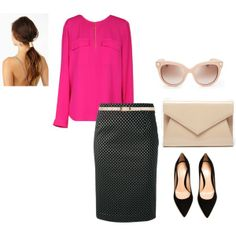 """""""Casual Friday Chic"""" by ymelda on Polyvore"""