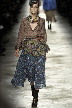 Dries Van Noten - Fall 2008 Ready-to-Wear - Look 36 of 59