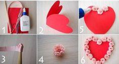 Hướng dẫn làm thiệp Valentine tặng người yêu
