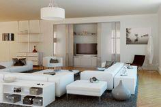 Comment obtenir un salon moderne et original ?  Orion #dressing en mode conseils...  http://blog.bbc-menuiseries.com/zoom-sur-le-brise-soleil-orientable.htm
