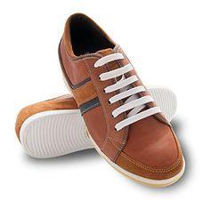 Oferta: 119€. Comprar Ofertas de ZERIMAR Zapatos deportivos con alzas para hombre de estilo casual. Aumento +6 cm. Fabricados en piel de ternera. Forro interi barato. ¡Mira las ofertas!