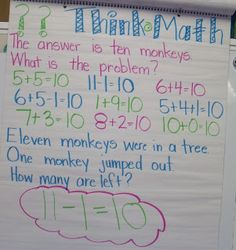 Mrs Jump's Think Math routine. Definitely using this!