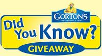 """Gorton's Seafood """"Did You Know?"""" Sweepstakes! (on Facebook)"""