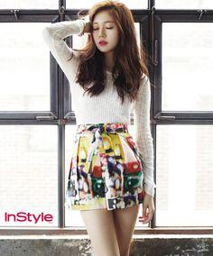 Baek Jin Hee - InStyle Magazine August Issue '14